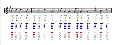 world aladdin recorder sheet  notes