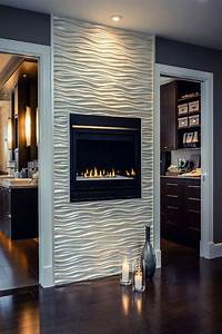 19 stylish fireplace tile ideas for your fireplace surround for Stylish options for fireplace tile ideas