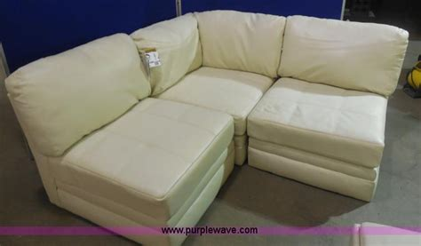 ashley furniture white leather sofa ashley furniture white leather sectional no reserve