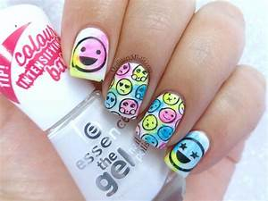 Ideas about emoji nails on for