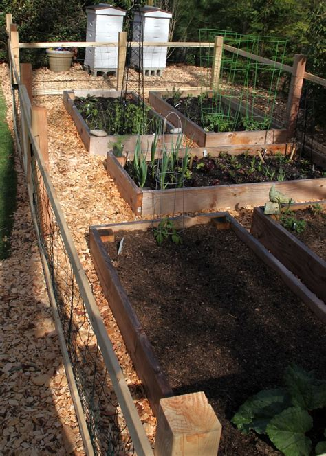 tilly s nest a simple garden fence