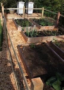 A, Simple, Garden, Fence