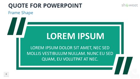 powerpoint templates  quotes showeetcom