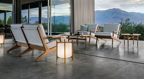 gloster bay collection modern luxury outdoor furniture