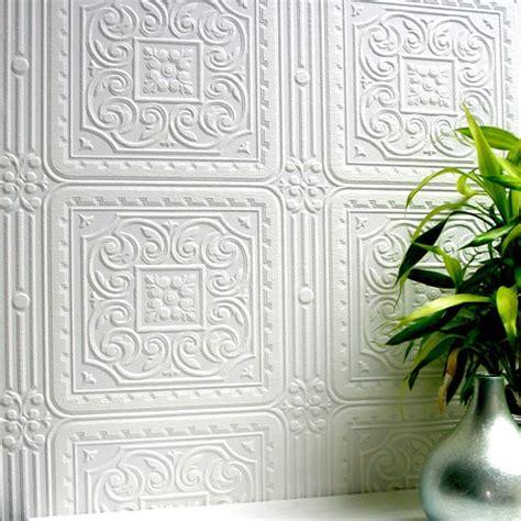 anaglypta paintable paper tile wallsorts