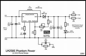 P48 Phantom Power From 9v D C