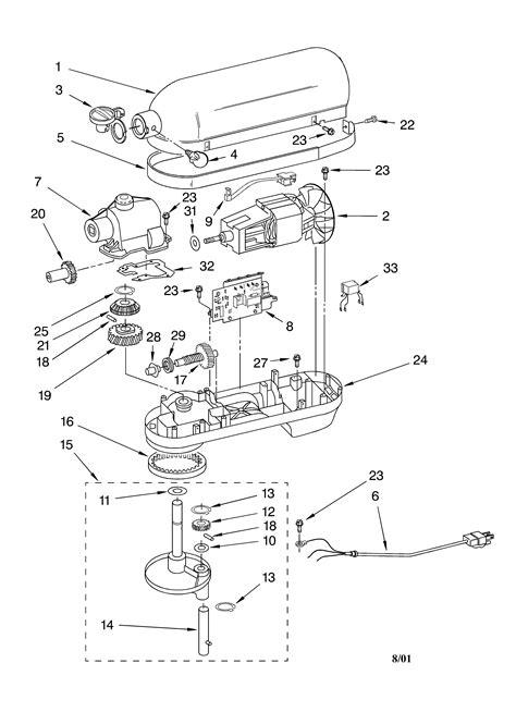 Kitchenaid Replacement Parts Mixer Besto Blog