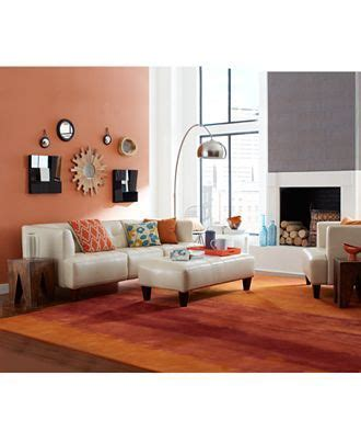 alessia leather sofa living room 17 best images about decor around leather sofa on