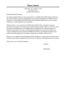 Cover Letter And Resume For Math by Career Cover Latter Exles Of Covering Letters Cover Letter Sle For Offer Middle