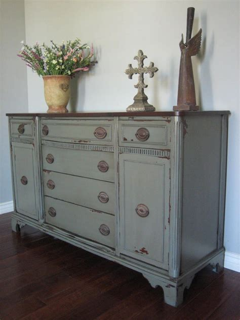 pictures  gray painted furniture cottage euro european