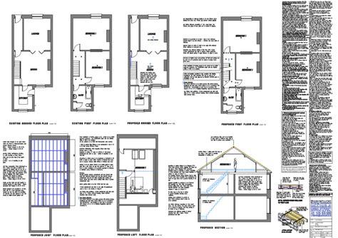 loft conversion floor plans attic dormer conversions