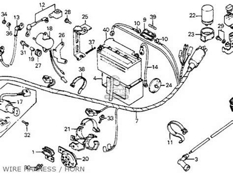 honda c70 passport 1981 b usa parts list partsmanual partsfiche