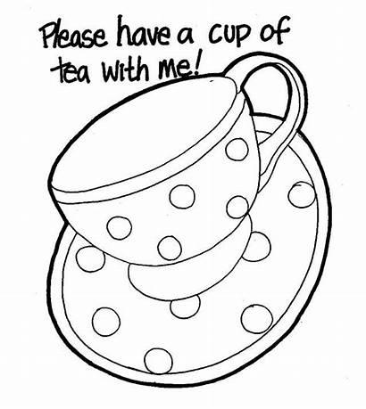 Tea Pintar Cups Desenhos Nil Cup Coloring