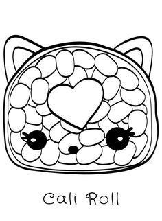 coloring page num noms birthday party pinterest