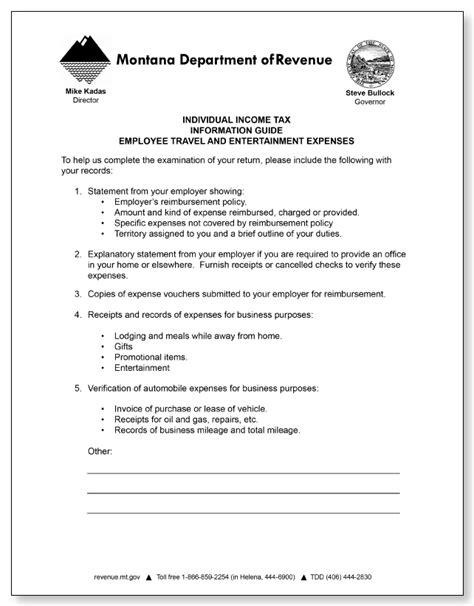 montana department  revenue field audit letter sample