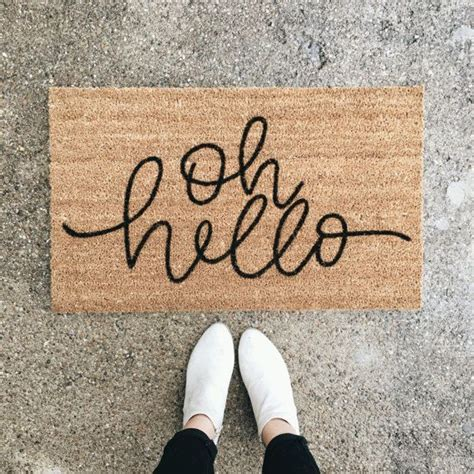 hi doormat 25 best ideas about welcome mats on welcome