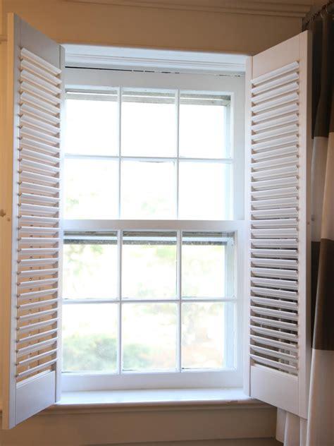 install interior plantation shutters  tos diy