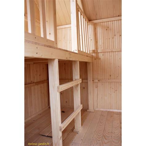 mezzanine pas cher maisonnette enfant en bois duplex mezzanine achat pas cher egt