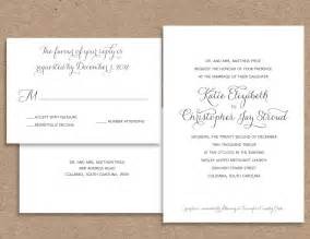 wording for couple wedding invitation if you want a With pretty formal wedding invitations