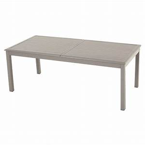 Table De Jardin Aluminium Extensible. awesome table de jardin verre ...