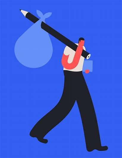 Magoz Illustrations Illustrator Animated Gifs Toolkit Smart