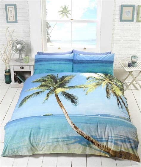 palm tree comforter sets tropical island palm tree bedding duvet cover