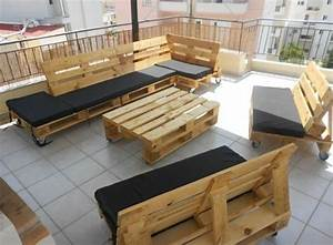 Bauanleitung Lounge Sofa : gartenm bel aus paletten selber bauen und den au enbereich ~ Michelbontemps.com Haus und Dekorationen