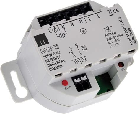dali dimmer 230v maintronic 10 195 dali retrofit dimmer drd300 up 300 w kaufen im voltus elektro shop