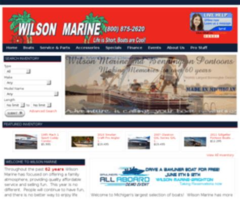Boat Accessories Grand Rapids Mi by Wilsonboats Michigan New Used Boats For Sale