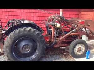 Hot-wiring An Old Ford 600 Tractor