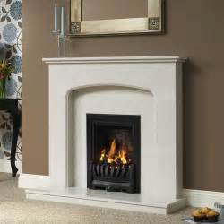 Modern Marble Fireplace Surround