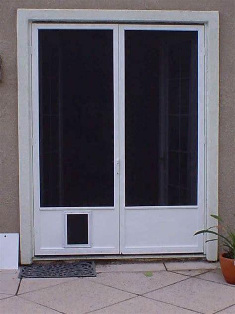 door with doggie door built in sliding glass door with doggie door built in