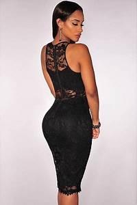 robes de mode robe noire chic et pas chere With robe de soirée chic pas cher