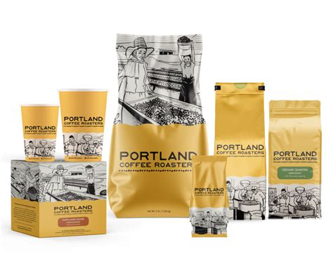 Coffee plant roaster strives to provide the freshest product possible using the highest quality beans that our roast masters prepare to perfection each day. Coffee Design: Portland Coffee Roasters In Portland, Oregon