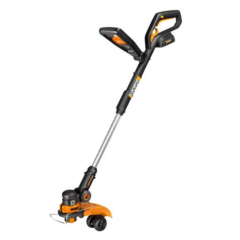 depot weedeaters worx 12 in 20 volt max lithium shaft cordless grass Home