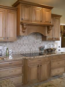 Beautiful Kitchen Backsplash A Mantle Style Wood Is A Beautiful Way To House The Vent A