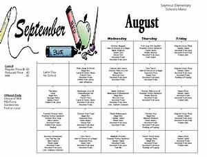 wonderful school lunch menu template photos resume ideas With school lunch calendar template