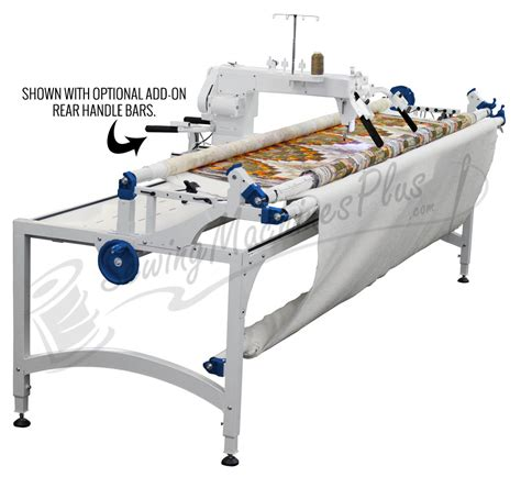 longarm quilting machine top of the line 18 fs arm quilting machine w px frame