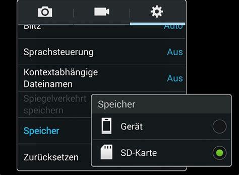 Samsung Galaxy S5 Bilder Auf Sd Karte Speichern