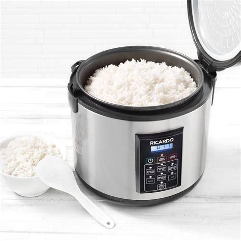 ricardo cuisine mijoteuse cuiseur à riz numérique boutique ricardo