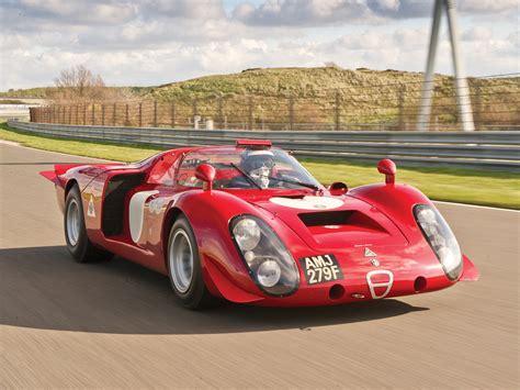 vintage alfa romeo race cars 1968 alfa romeo tipo 33 2 daytona classic race racing le