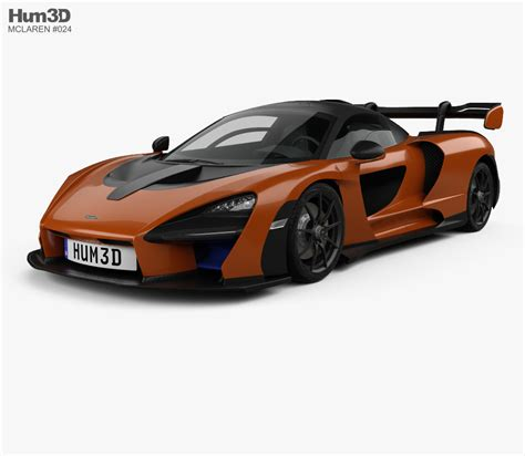 2019 Mclaren Models mclaren senna 2019 3d model vehicles on hum3d