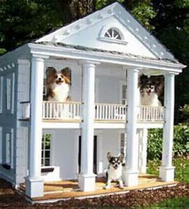 25 luxury doghouses we39d live in home garden do it With two story dog bed