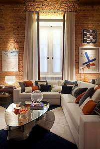 Modern, Interior, Design, Of, Apartment, In, Warm, Shades