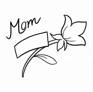 How to Draw a Mother's Day Flower - Really Easy Drawing ...