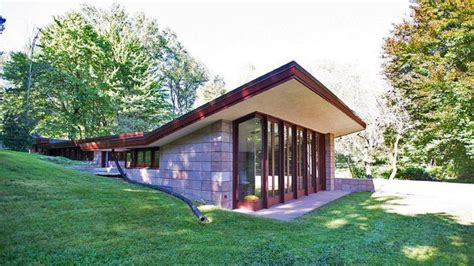 two bedroom two bathroom house plans restored frank lloyd wright usonian on the market in mi