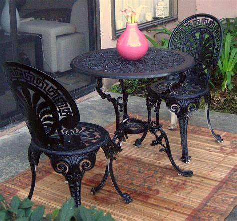 chaise bistrot metal black wrought iron dining table black wrought iron 54