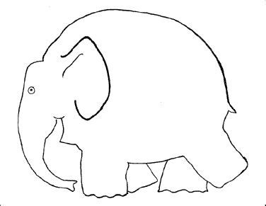 Elephant Template For Preschool by 63 Best Images About Preschool Theme Elephant On