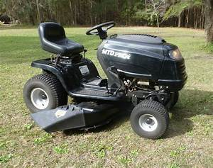 Mtd Pro 46 In  Riding Mower 20 Hp  V Twin Briggs