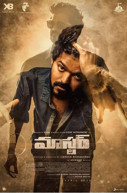 Vijay Master Telugu Kannada Poster 2021 Hdrip